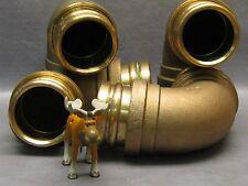 Elkheart Xpress 807 Brass Elbow 90 Deg. 2 1/2 X 2 1/2 Lot of 4