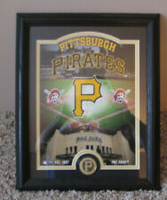 FRAMED HIGHLAND MINT PITTSBURGH PIRATES COIN & PNC PARK PHOTO LTD EDITION