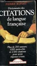 Dictionnaires monolingues