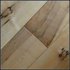 """Solid Hard Maple 3/4"""" x 5"""" Natural Country Grade Hardwood Floor Free Shipping"""