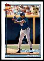 2001 TOPPS 50 YEARS JOE CARTER TORONTO BLUE JAYS #REPRINT 37 OF 45
