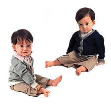 Baby-Pullover & -Strickwaren für Jungen ohne Muster aus 100% Baumwolle
