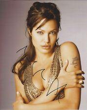 Angelina Jolie autograph - signed photo