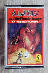 1 MC AC Kassette Hörspiel Aladin und d Wunderlampe STARLET 1001 Nacht +++