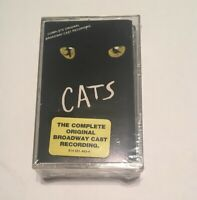 New CATS Complete Original Broadway Cast Recording 2 Cassette Tapes