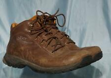 Attractive UGG Brown Leather Hiking Trail Boots US 9.5 UK 8.5 EUR 42.5 Japan 275