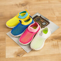 Kids Toddler Mesh Hollow Shoes Soft Sole Lightweight Running Breathable Outdoor