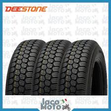 Tris 3 Copertoni Gomme Pneumatici DEESTONE 125-12 R APE CAR TM 703 8PR 81J D823