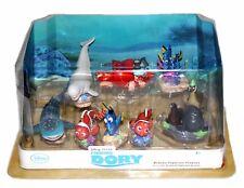 Finding Dory Deluxe Figure Set Hank Destiny Gerald Cake Topper Disney Store New