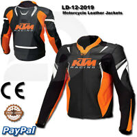 KTM Motorbike Motorcycle Rider  racing motogp men new Leather  Jacket LD-12-2019