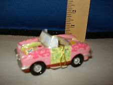 Car Ornament 1950s Pink Convertible resin 5001304c 183