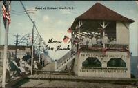Midland Beach Staten Island NY Band Stand c1910 Postcard