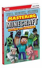 MINECRAFT REVISED and EXPANDED GUIDE (Paperback) (ALL, 2015) (5402)   SHIPS FREE