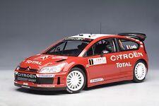 Autoart citroen c4 wrc winner Rally de Monte Carlo 2007 loeb/elena 1:18 tipo 80738