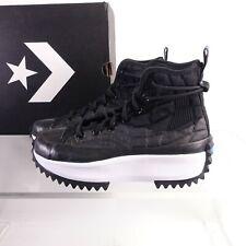 Converse Women's Run Star Hike High Sneakers 170246C Black/White