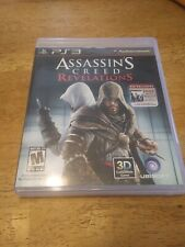 Assassin's Creed: Revelations Sony Playstation 3 2011 PS3 Complete