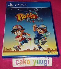 PANG ADVENTURES SONY PS4 VERSION US LIMITED RUN #47