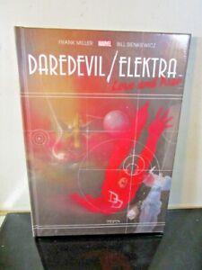 Daredevil Elektra Love & War Gallery Edition HC (MR)NEW SEALED MARVEL