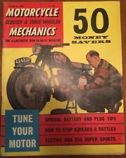 Motorcycle Mechanics Monthly Magazines in English