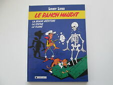 LUCKY LUKE LE RANCH MAUDIT EO1986 TBE/TTBE  EDITION ORIGINALE
