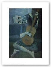 Old Guitarist by Pablo Picasso Art Print Music Guitar Player Poster 24x32
