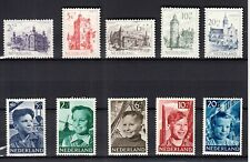 Nederland 568 - 577 Jaargang 1951 postfris