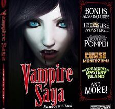 Vampire Saga 4 Pack PC Games Windows 10 8 7 XP Computer Games hidden object seek