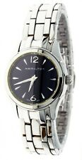 New Ladies Hamilton Watch Black Face Water -R Sapphire Crystal S.Steel H322610