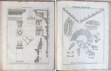 Nouveau VIGNOLE des Menuisiers/ A.-G. COULON  / 84 Planches / 2 T. DUNOT 1860