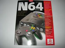 The NINTENDO 64 BOOK  By Retro Gamer : Brand New - Mario / Goldeneye / Zelda +++