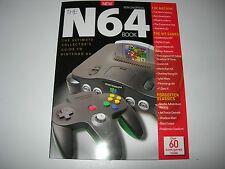 The NINTENDO 64 BOOK  By Retro Gamer : Brand New - Mario / Goldeneye / Zelda +++