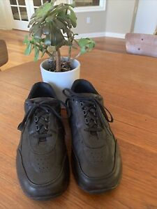 $208- SAS JOURNEY II GRAVITY Tripad Comfort SHOES Black Leather Mens 10 WW