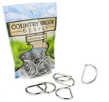 25 - Country Brook Design® 1 1/2 Inch Welded D-Rings