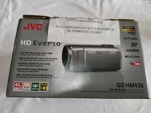 Videocamera Digitale Full HD JVC Everio GZ-HM435 Usata + Porta Videocamera
