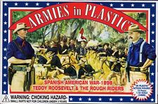 Armies in Plastic Spanish-American War Rough Riders 1/32 Scale 54mm butternut