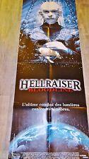 HELLRAISER bloodline ! affiche rare visuel video gore !