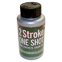 Two (2) Stroke Oil One Shot Bottle 50:1 Mix Ideal For Stihl Chainsaw