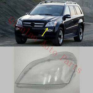 Left Side Clean Headlight Cover With Glue For Mercedes-Benz W164 GL 2006-2012