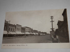 SPRING VALLEY ILLINOIS - EARLY POSTCARD - ST. PAUL STREET