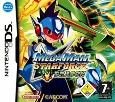 Megaman Starforce Dragon NDS 2DS Nintendo DS Video Game Original UK Release