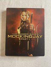 The Hunger Games: MockingJay Part 1 Blu-ray Plus DVD in Steelbook Case
