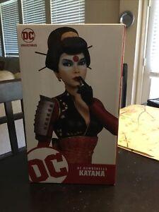 Dc Bombshells Katana Limited Edition Statue