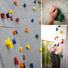 Perfeclan 1pcs Rock Wall Climbing Holds with Installation Hardware for Kids