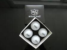 Wilson Golfbälle Fußball-Weltmeisterschaften Multi Box 4 Stück - NEU