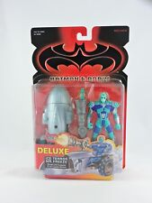 Ice Terror Mr. Freeze BATMAN & ROBIN movie DELUXE 1997 Kenner  NEW figure MOC