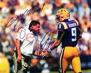 Joe Burrow Coach O Signed LSU Tigers 8x10 Photo reprint
