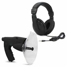Parabolic Microphone Monocular Bionic Ear For Long Range Listening Up To 300 Ft
