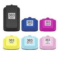 6x Cartuchos de inyección tinta alta capacidad NO-OEM alternativa para HP no 363
