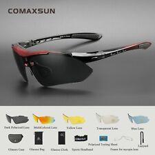 COMAXSUN Bike Professional Polarized Cycling Glasses Sports Sunglasses UV400