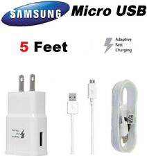 NEW Tablet Charger For Samsung Galaxy Tab 3 4 7.0 8.0 Pro 8.4 10.1 5 Ft Cable
